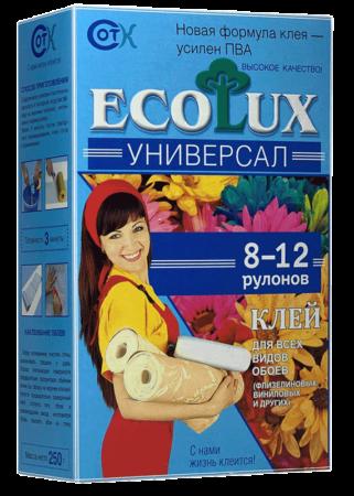 Клей для обоев ECOLUX